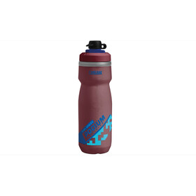 CamelBak Podium Chill Dirt Series Bidon 620ml, burgundy/blue